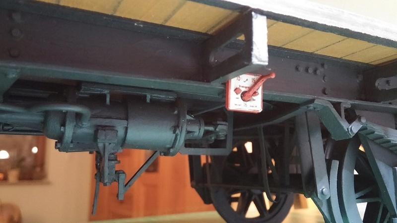 Preuss. gedeckter Güterwagen G10 mit Bremserhaus, M 1:16 20171114