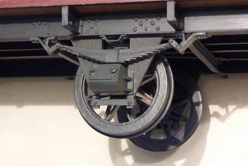 Preuss. gedeckter Güterwagen G10 mit Bremserhaus, M 1:16 P1100317