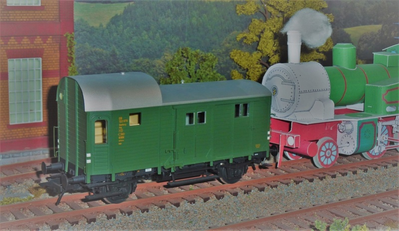 Baubericht Preuss. Güterzuggepäckwagen MusterblattIIa13, M1:16 P1100911