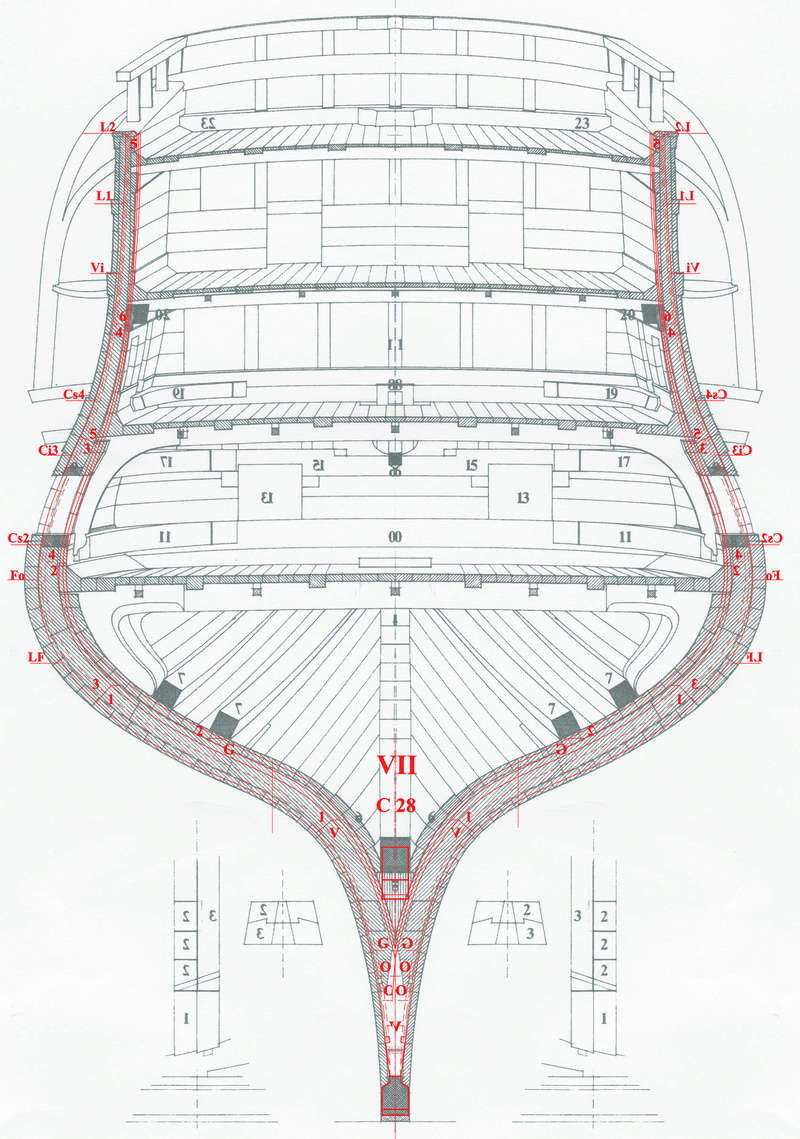 Plan de la charpente du V74 - Page 2 Couple10
