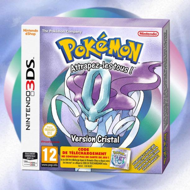Pokémon Cristal dispo sur 3DS le 26 janvier 2018 Pokemo10