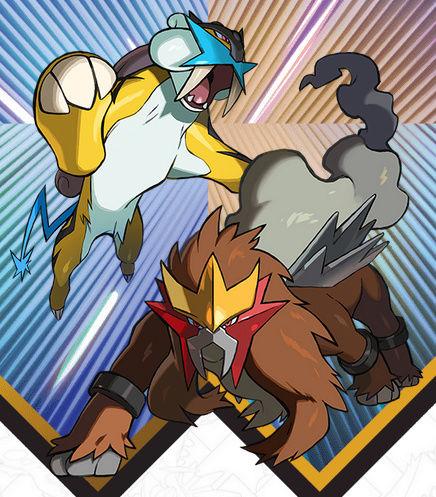 [Pokemon Legendary event de Nintendo] Raikou et Entei, disponibles via le Nintendo Network Raikou11