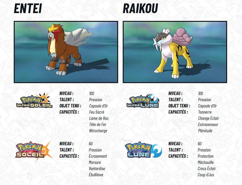 [Pokemon Legendary event de Nintendo] Raikou et Entei, disponibles via le Nintendo Network Raikou12