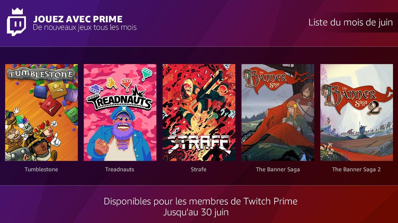 Twitch Prime : jeux du mois de juin Twitch10