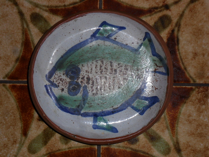 WIVENHOE POTTERY PIN TRAY - John Dan Sam_6916