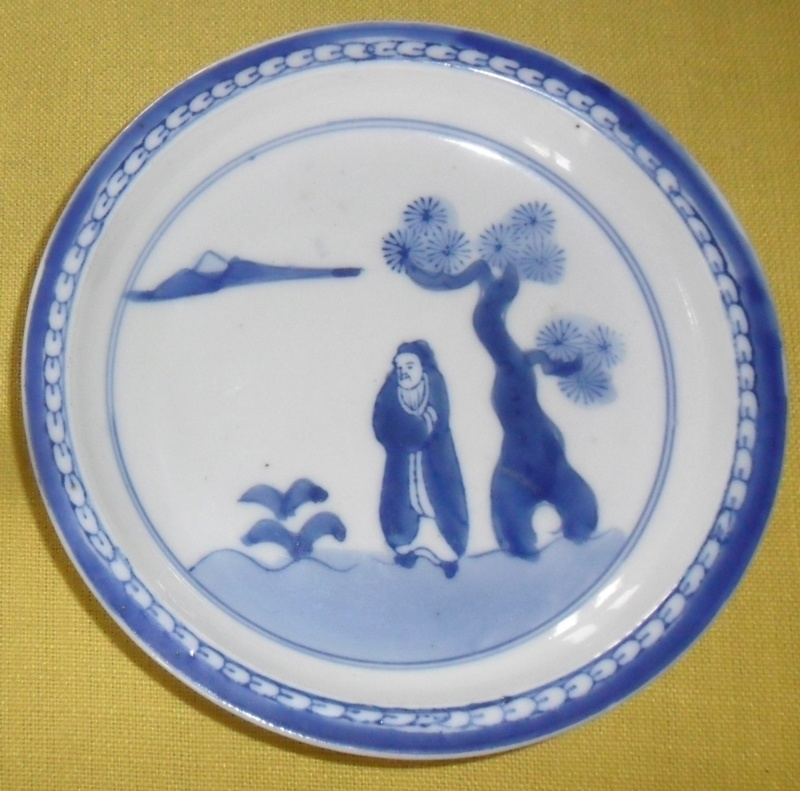 lovely little blue and white dish MADE IN JAPAN Sam_7711