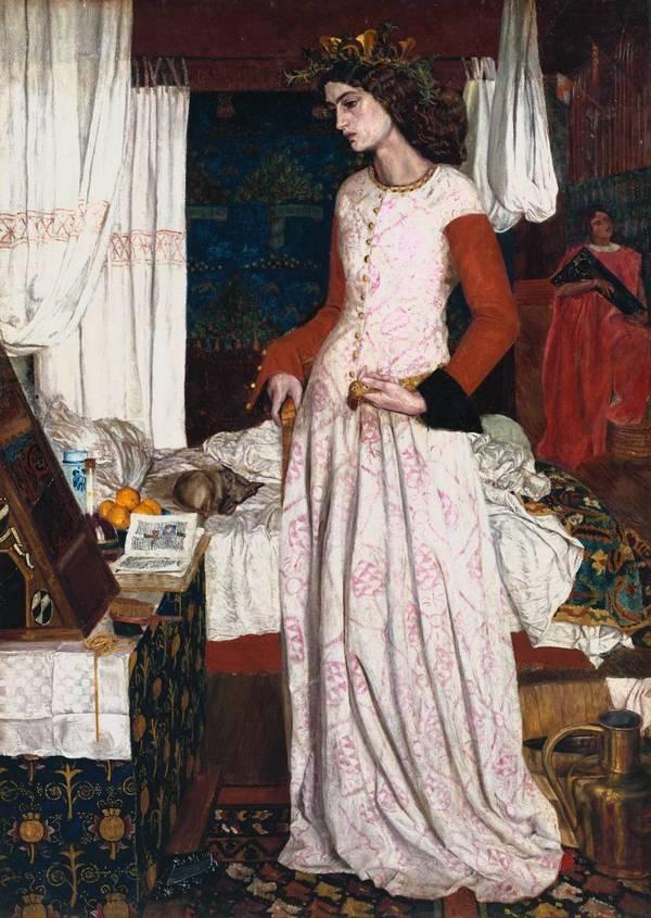 Джейн Моррис (1839-1914). 028-ja10