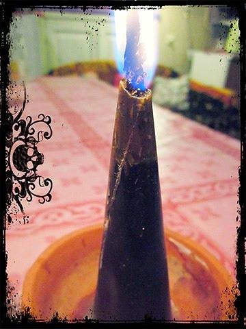 Изготовление травяных свечей. 110