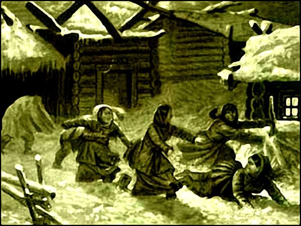 Славянская мифология. Амбарник. 134