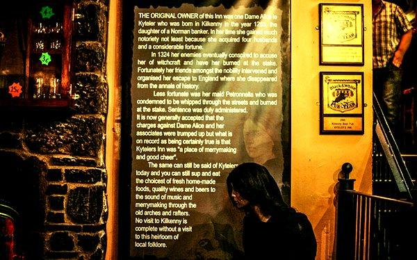 Страсти по ведьмам в Килкенни. 1410
