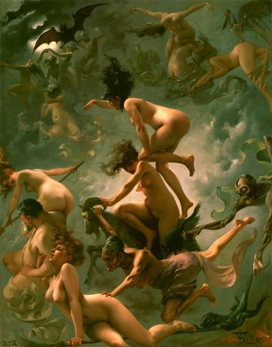 Магия, наркотики и интим: Как возник традиционный образ «ведьмы на метле».  218