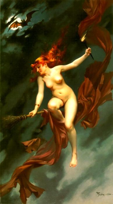 Магия, наркотики и интим: Как возник традиционный образ «ведьмы на метле».  317