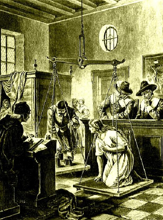 «Ведьмины весы»: как в эпоху Ренессанса отличали ведьму от благонравной дамы. 515