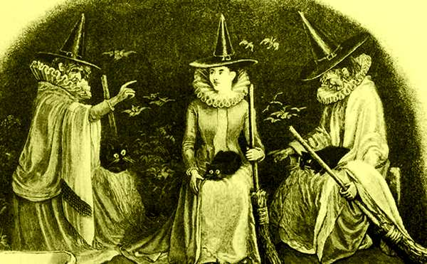 Why Do Witches Ride Brooms? 52661010