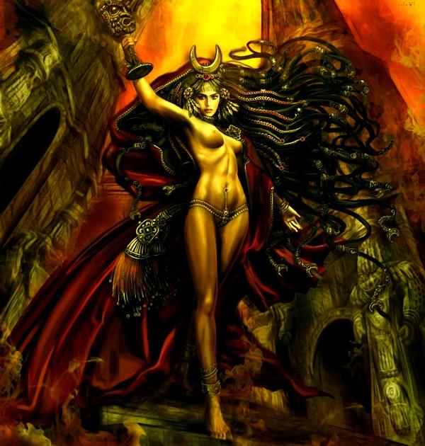Ритуал изгнания и освобождения через обращение к Иштар, богине Войны (на Чёрную Луну). 599010