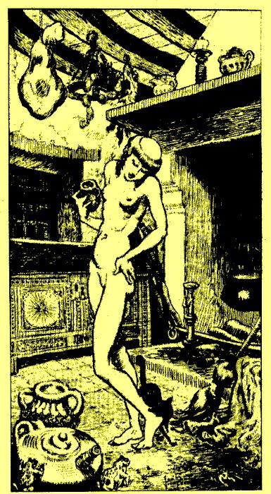 Магия, наркотики и интим: Как возник традиционный образ «ведьмы на метле».  615