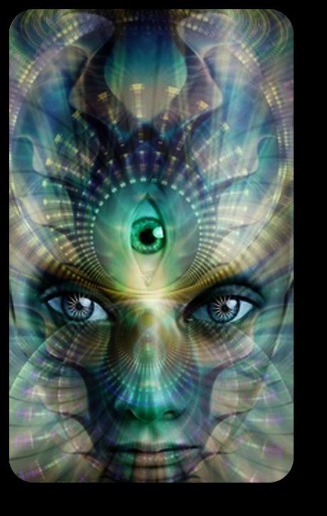 Техника открытия третьего глаза на базе сжатия и расслабления  мозга. 812