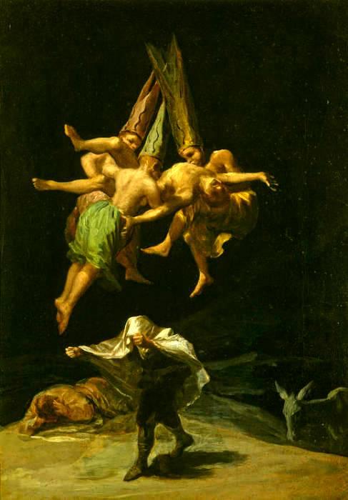 Магия, наркотики и интим: Как возник традиционный образ «ведьмы на метле».  813