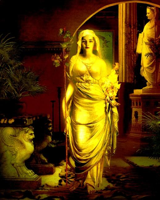 Ритуал почитания Весты, Хранительницы Очага ( На Молодую Луну).  Image10