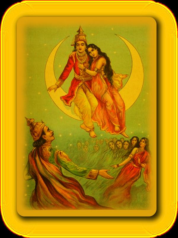 Перемещение Луны по Накшатрам и история о дочерях Дакши. Uzaie_10