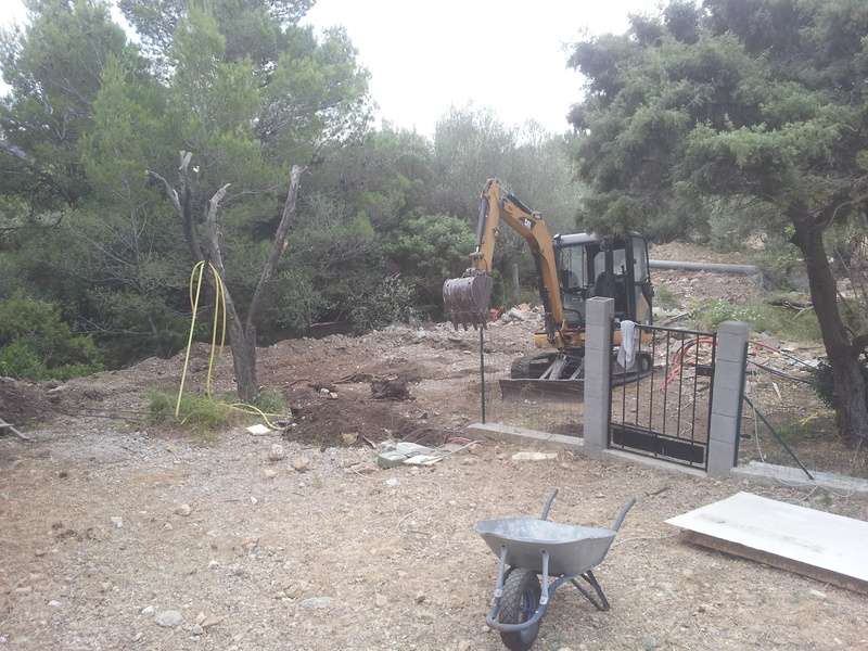 """La """"Maison de Papa"""". Today : nouvelle machine ... eh oui encore une ... 2013-019"""