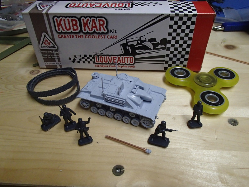 Making the STUG III.... Albiet not 1/16th... P1040010