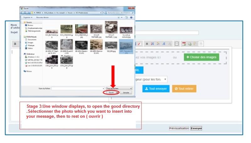 Comment insérer une photo/image Etape310