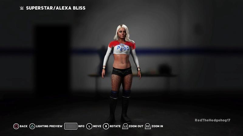 WWE 2K18 Universe Mode Custom Attires Wwe_2k38