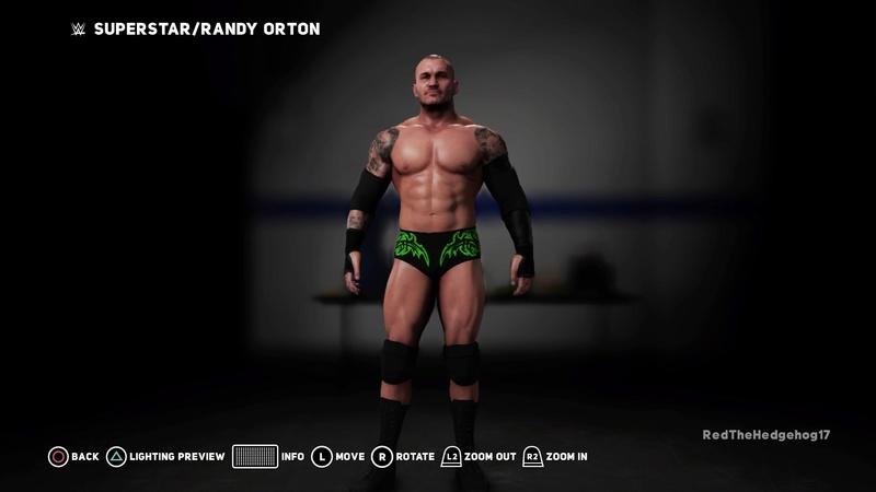 WWE 2K18 Universe Mode Custom Attires Wwe_2k58