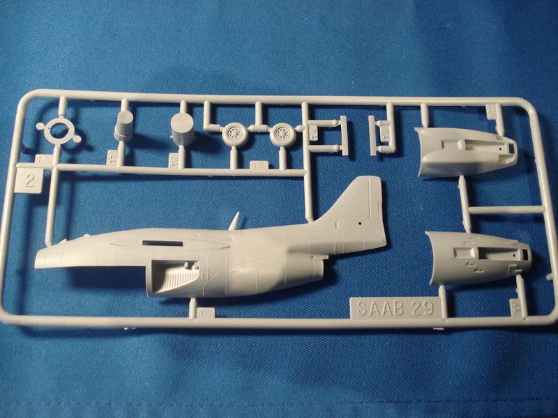 [HELLER] Saab TUNNAN J29 -1:72e ref 80260 Dsc06624