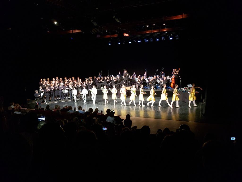 Concert de la Lyre qui fête ses 110 ans. 20180412
