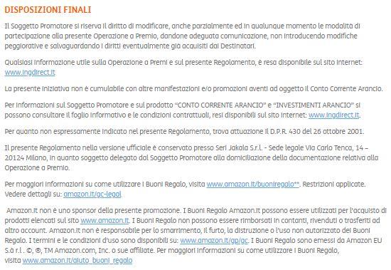 CONTO CORRENTE ARANCIO regala fino a € 500 in BUONI AMAZON [scaduta il 20/03/2018] Cattur17