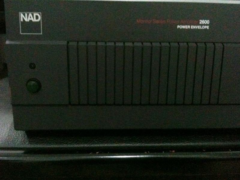 NAD 2600 PE power amp (SOLD) Nad26010