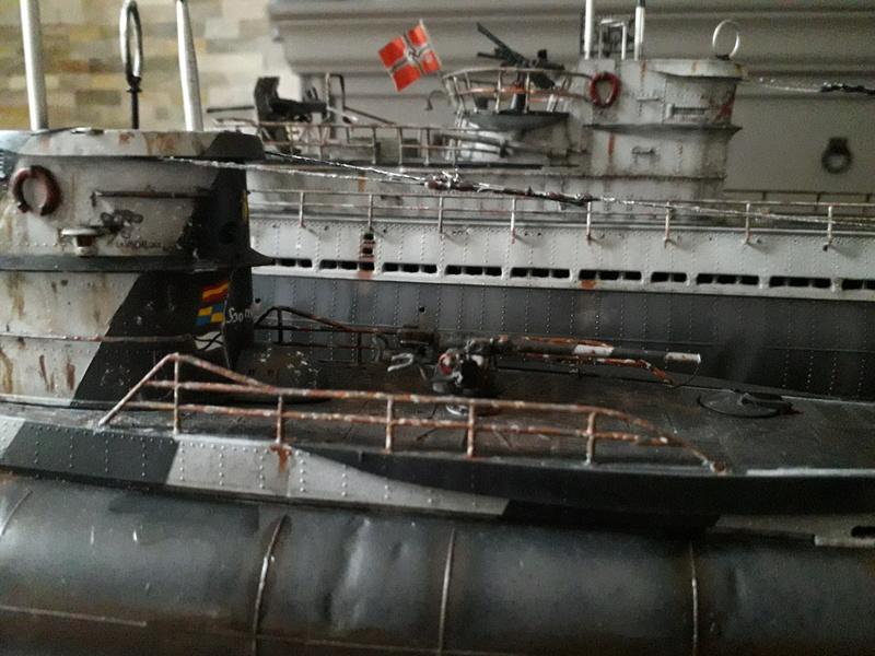 2 u-boots pour le bord de mer. 20180111