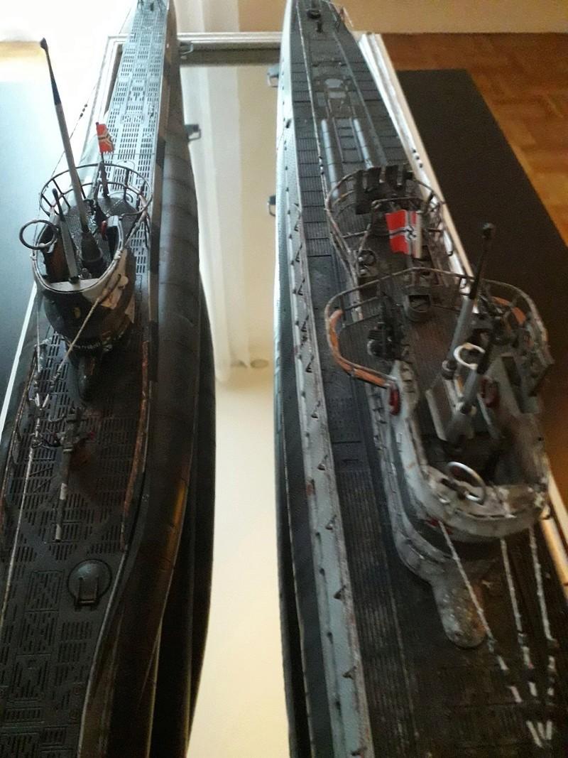 2 u-boots pour le bord de mer. 20180117