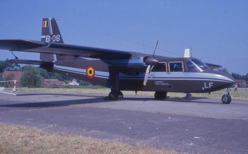 l'Islander de l'Armée de Terre belge. Txt et photos Jean-Loup Via FB 30412310