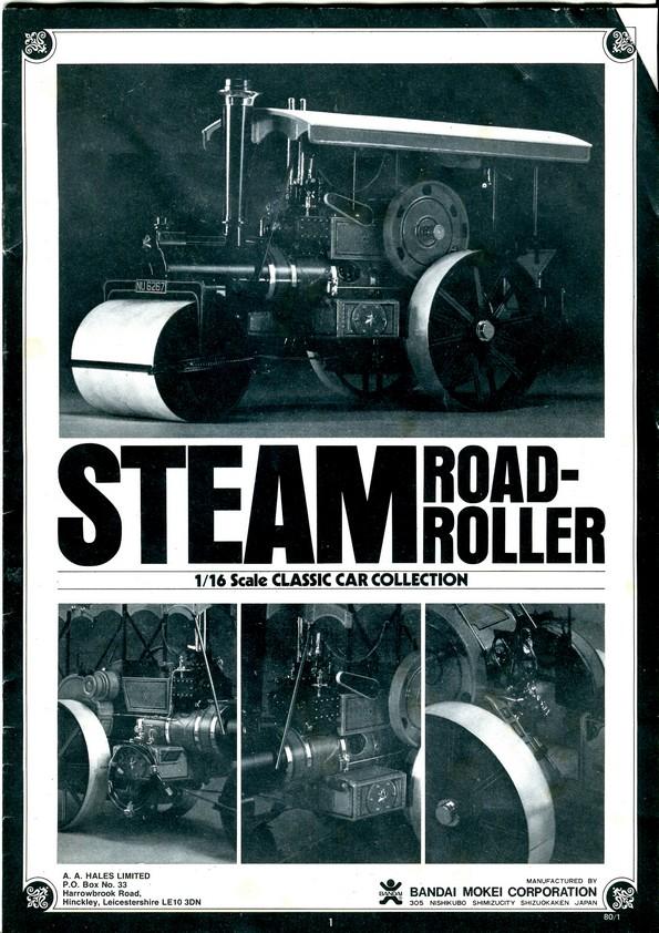 BANDAI STEAM ROAD ROLLER 1:16 Img74010