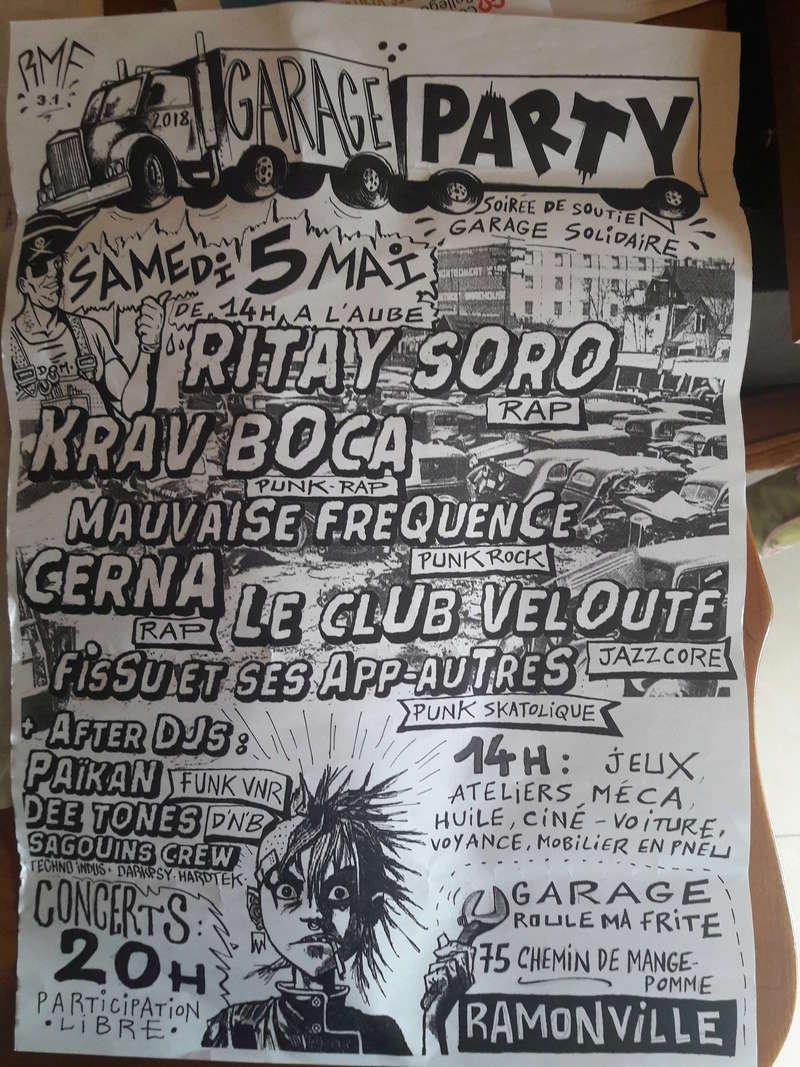 Soirée punk le 5 mai - Ramonville 20180411