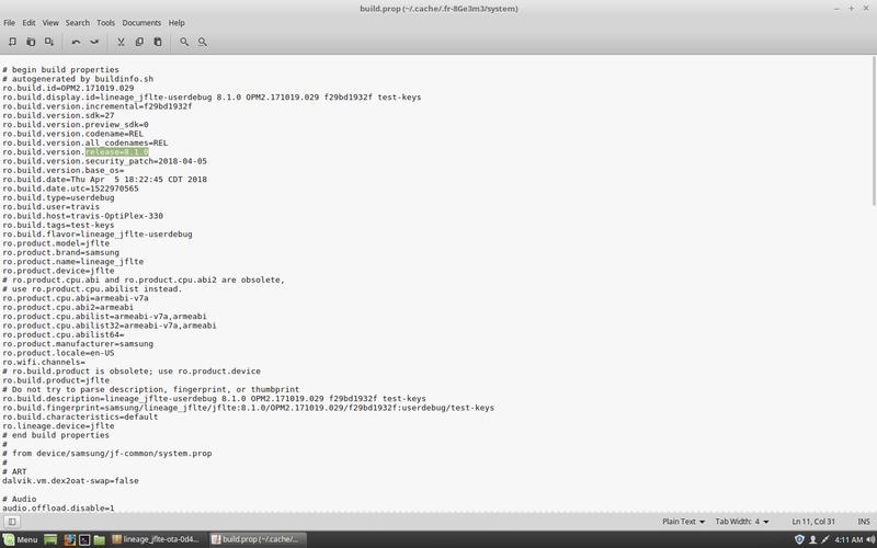 Optimized-Lineage-15.1.0-jflte-20180406.zip  Screen36