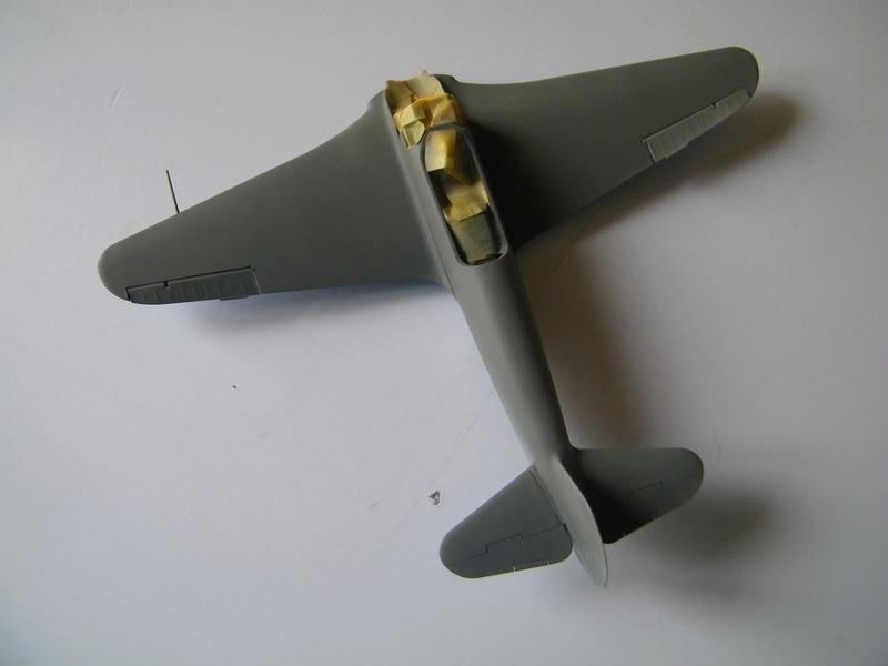 Yak 3 de Zvezda au 1/48e 100_5648