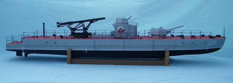 Russian gunboat Bk 1124 au 1/20e sur plan  - Page 9 100_5929