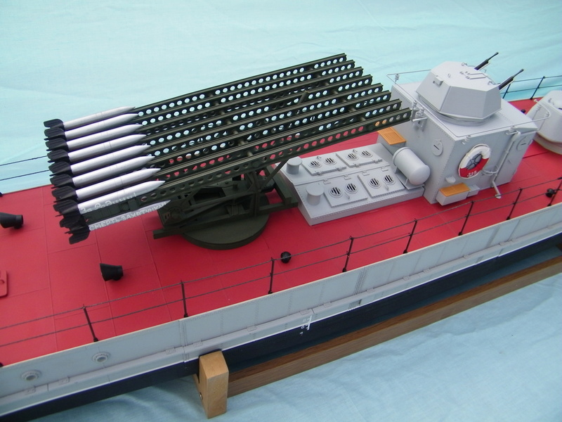 Russian gunboat Bk 1124 au 1/20e sur plan  - Page 9 100_5930