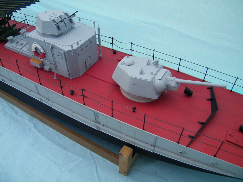Russian gunboat Bk 1124 au 1/20e sur plan  - Page 9 100_5931