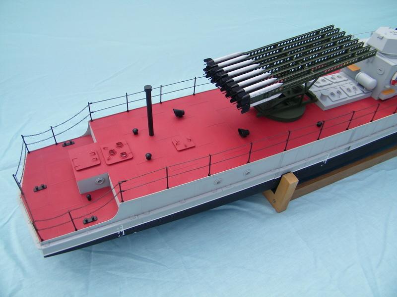 Russian gunboat Bk 1124 au 1/20e sur plan  - Page 8 100_5932