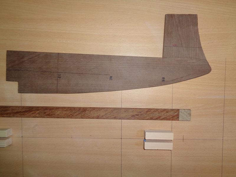 SMS Monarch cuirassé austro-hongrois au 1/65e sur plan Dsc00012