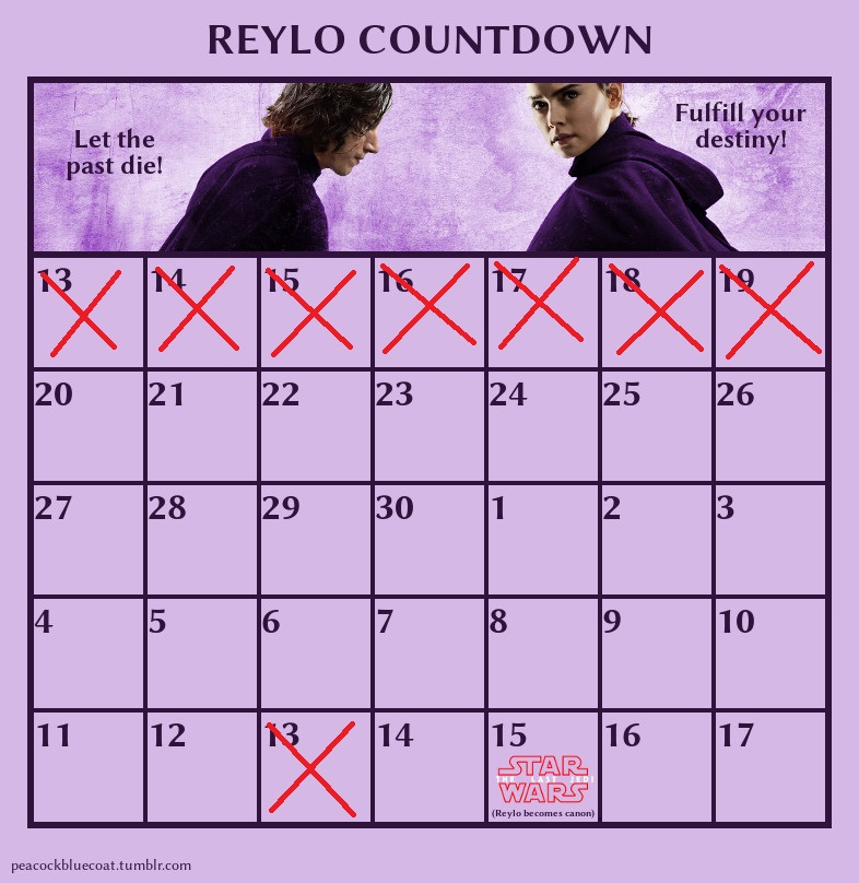 The Last Jedi Countdown Reylo_12