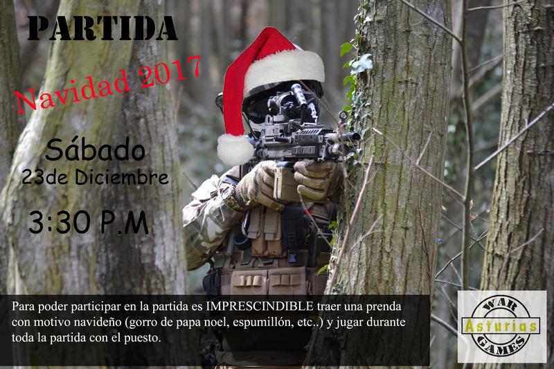 Partida NAVIDAD sábado 23 Diciembre Cartel11