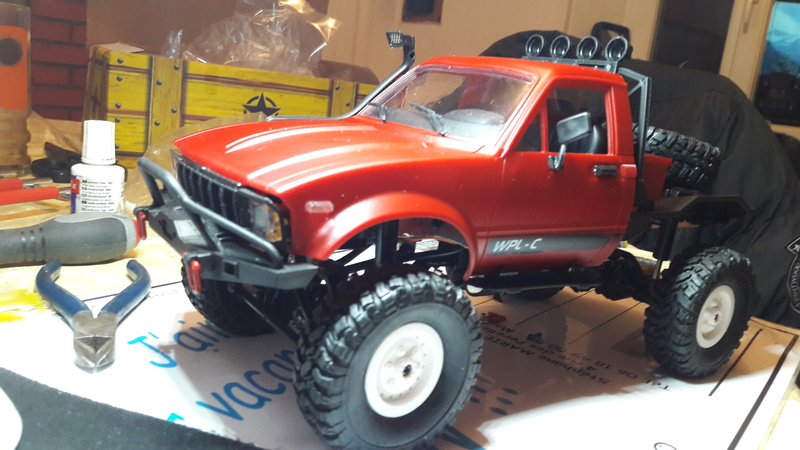 WPL 1/16 HILUX 20180134