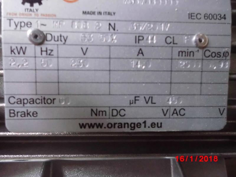 Branchement pour invertion de rotation d un moteur monophasé Cimg1410