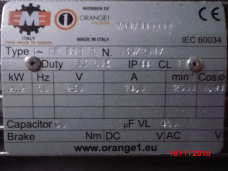 Branchement pour invertion de rotation d un moteur monophasé Cimg1411